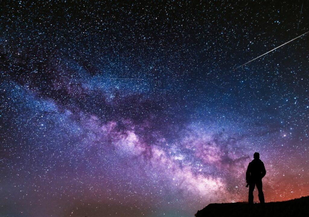 Imagen de cielo estrellado