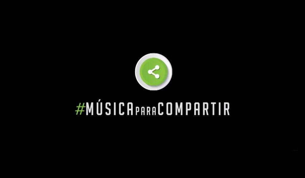 Logo Música para Compartir