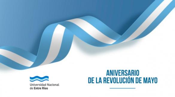 Bandera argentina - Revolución de mayo