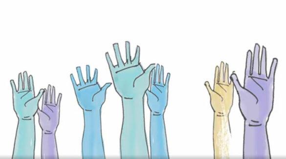 Manos - Democracia - Plan Institucional Participativo