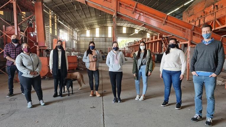 Planta Recicladora de Paraná - Estudiantes de UNER