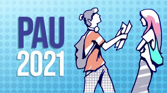 logotipo de PAU