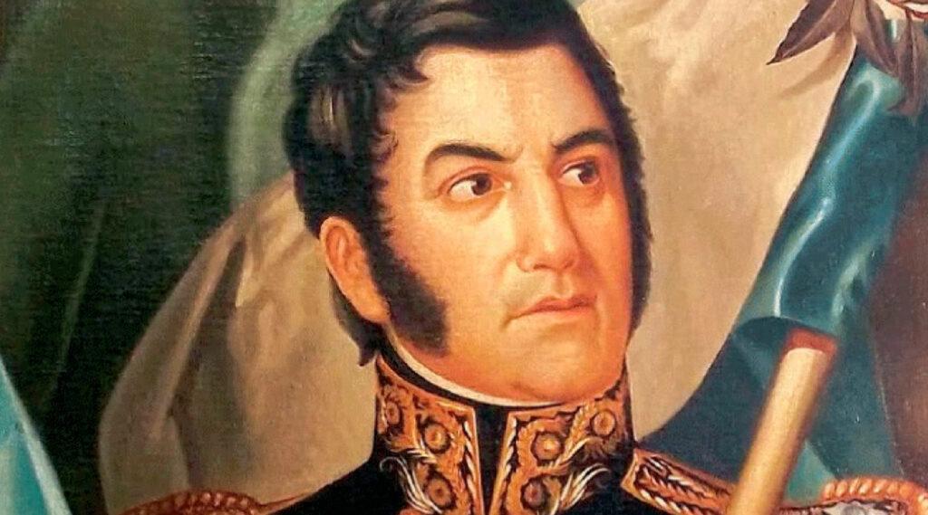 Retrato de José de San Martín en su juventud