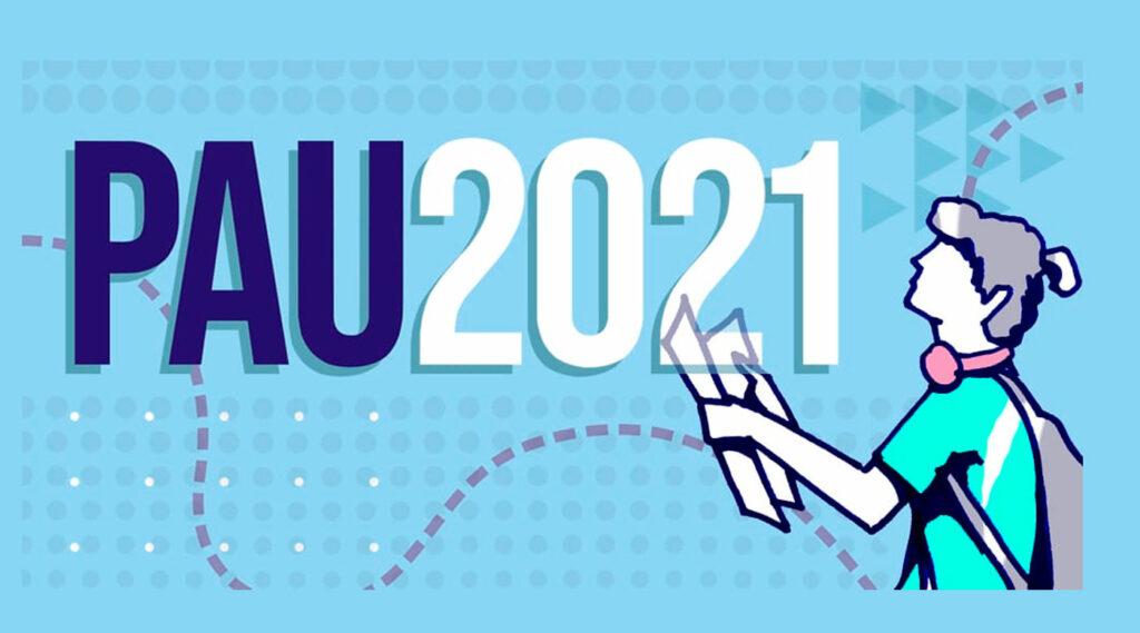 Logo de PAU 2021