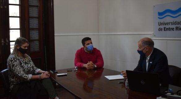 Andrés Sabella reunido condos representantes del COPNAF