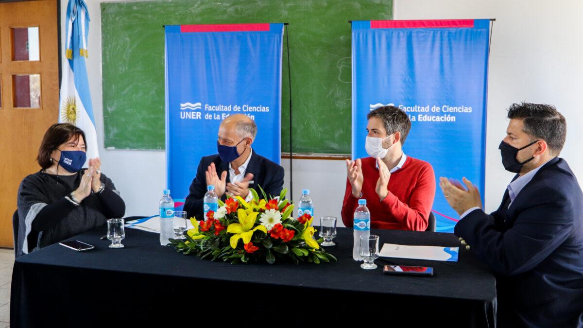 Las propuestas académicas de la UNER se expanden en la provincia