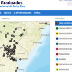 Mapa de Graduados UNER